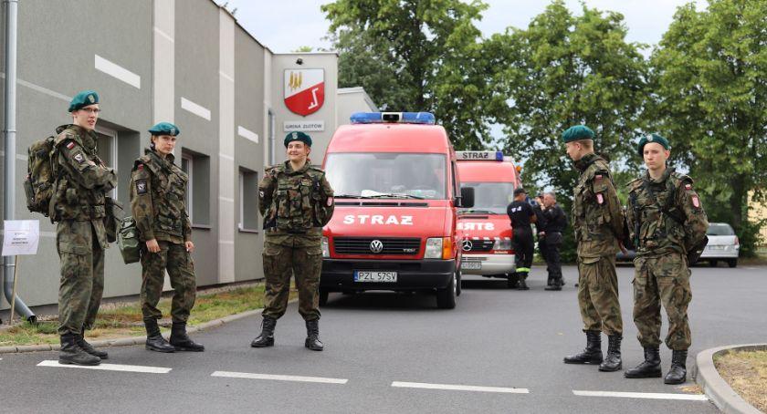 Straż pożarna, Wojewódzkie Ćwiczenia Obronne Wielkopolska - zdjęcie, fotografia