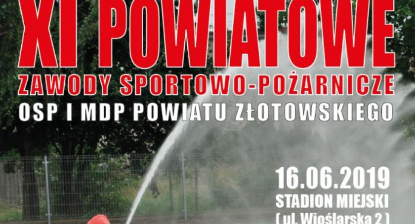 Straż pożarna, Powiatowe Zawody Sportowo Pożarnicze - zdjęcie, fotografia