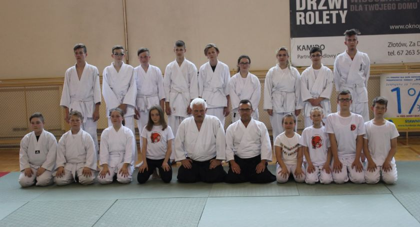 Karate Aikido - sztuki walki, Egzaminy Złotowskim Klubie Aikido - zdjęcie, fotografia