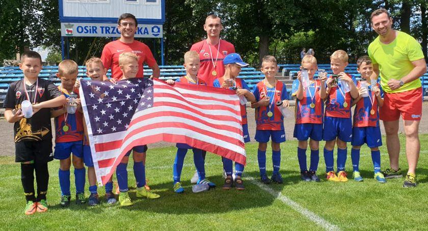 Piłka nożna, Żaki Sparta Złotów Mistrzostwach Świata Trzciance - zdjęcie, fotografia