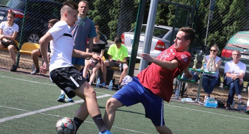 Piłka nożna, Ostatni dzień szkoły sportowo - zdjęcie, fotografia