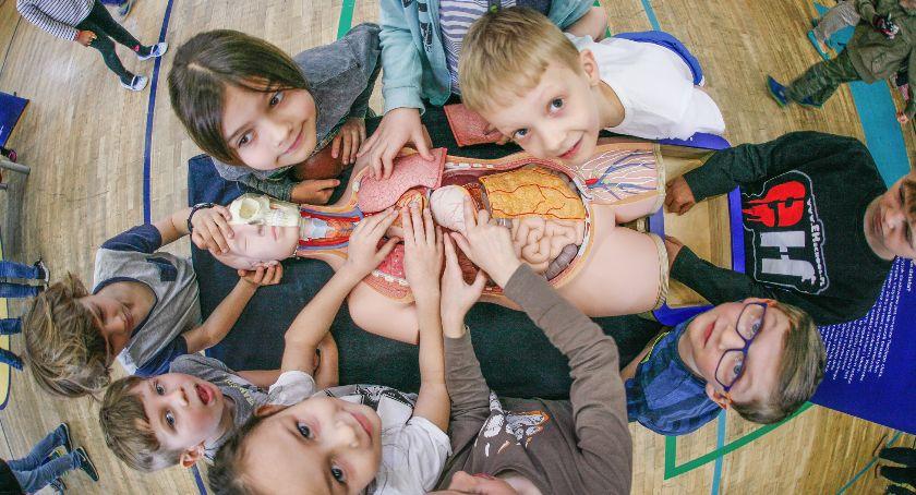 Edukacja, Eksperymenty zasięgu ręki - zdjęcie, fotografia