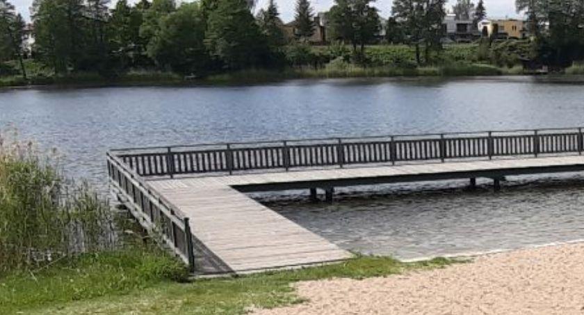 Rekreacja wypoczynek, Komunikat kąpieliskowy - zdjęcie, fotografia