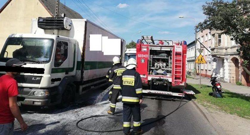 Straż pożarna, Pożar samochodu Jastrowiu - zdjęcie, fotografia
