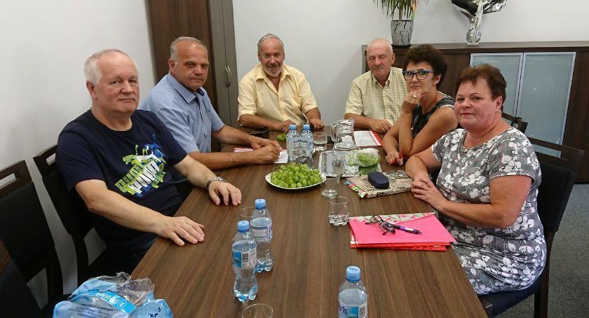 Samorządowcy, Walne zgromadzenie Spółdzielni Socjalnej Okonku - zdjęcie, fotografia