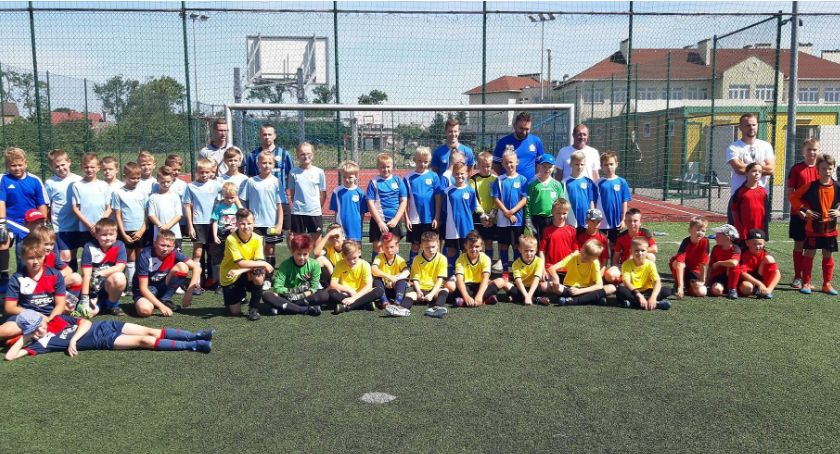 Piłka nożna, Międzywojewojewódzki Turniej Piłkarski Puchara Prezesa Lipka - zdjęcie, fotografia