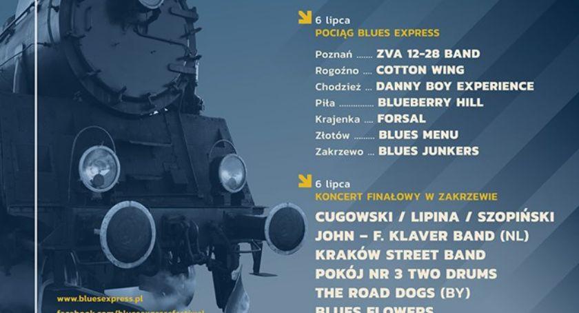 Koncerty muzyka, Rozkład jazdy Blues Express - zdjęcie, fotografia