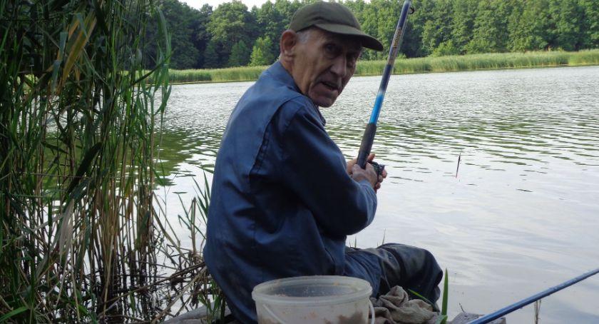 Wędkarstwo, Seniorzy Miejskim - zdjęcie, fotografia