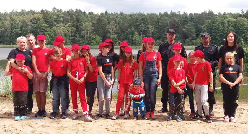 Straż pożarna, Obóz Młodzieżowej Drużyny Pożarniczej Osówce - zdjęcie, fotografia