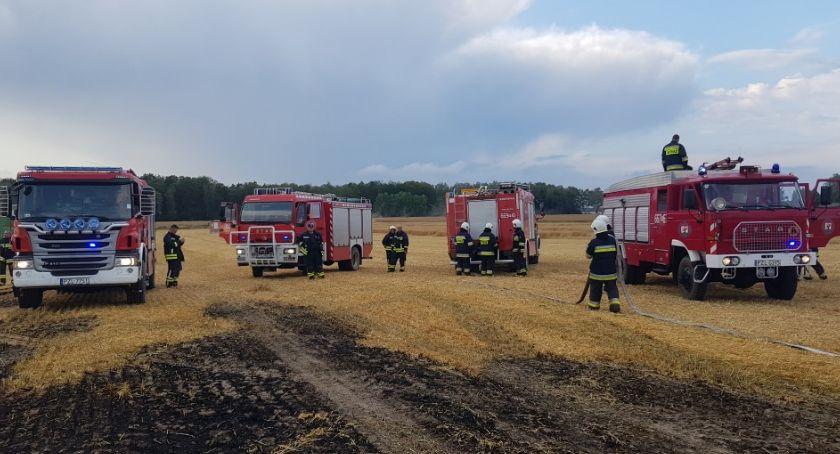 Straż pożarna, Pożary żniwach - zdjęcie, fotografia