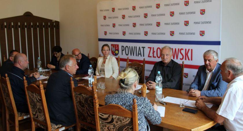 Samorządowcy, Posiedzenie Komisji Bezpieczeństwa Porządku Złotowie - zdjęcie, fotografia