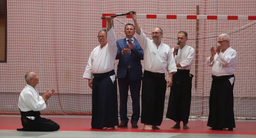 Karate Aikido - sztuki walki, Szkoła Letnia Aikido sensei Shigemi Inagaki - zdjęcie, fotografia