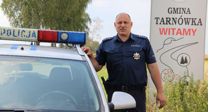 Sławomir Rummler, policjant zawsze na służbie