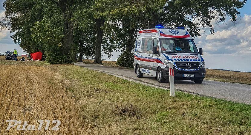 Tragiczny wypadek na drodze wojewódzkiej w pobliżu Podróżnej