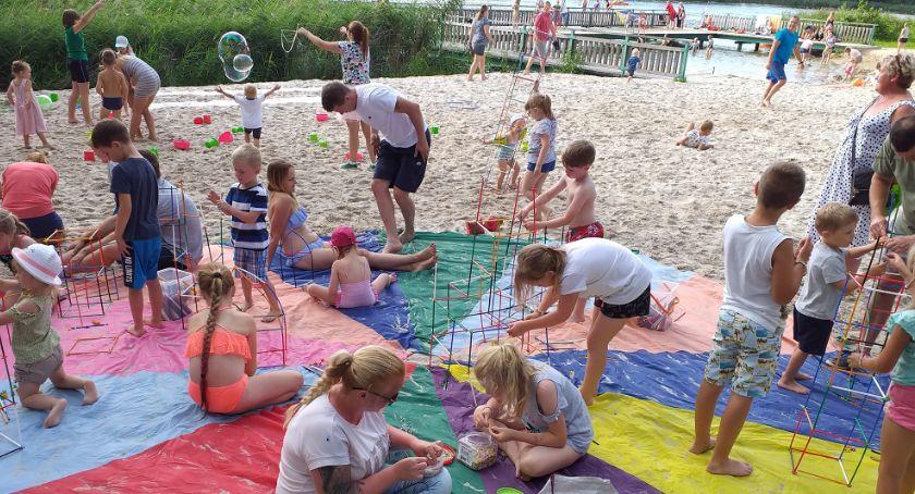 Rekreacja wypoczynek, Projekt Aktywna Plaża Złotowie - zdjęcie, fotografia