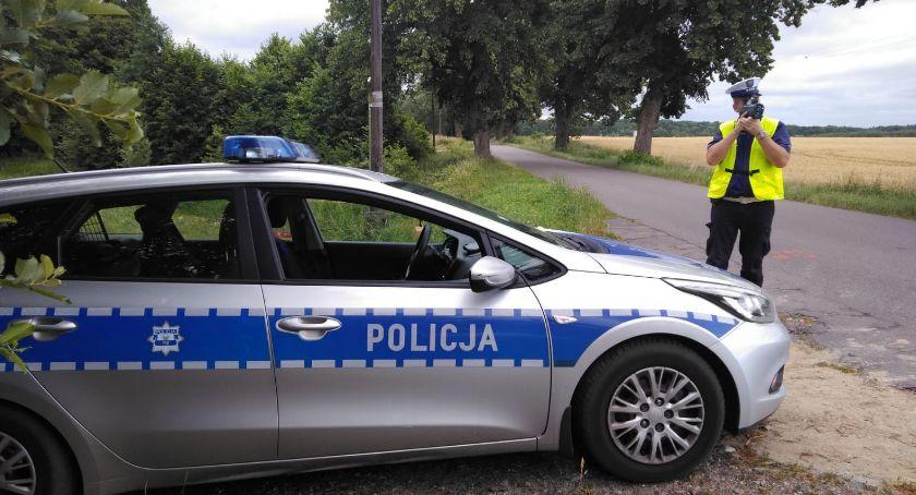Policja - komunikaty i akcje, Przed akcja Prędkość - zdjęcie, fotografia