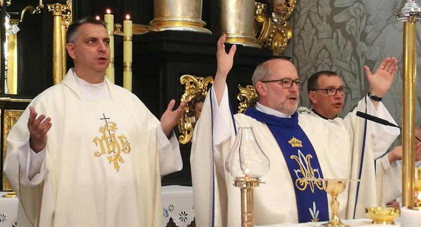 Kościół, Odpust podwójny jubileusz lecia kapłaństwa Złotowie - zdjęcie, fotografia