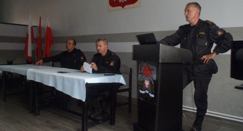 Straż pożarna, Narada operacyjna - zdjęcie, fotografia