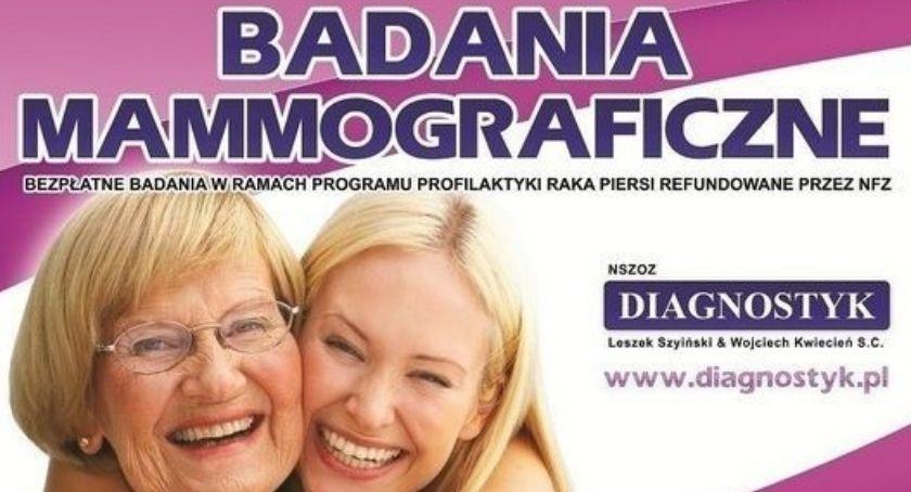 Zdrowie i szpital, Bezpłatne badania mammograficzne Lipce - zdjęcie, fotografia