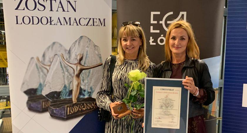 Nagrodę odebrały Katarzyna Klaczyńska i Jolanta Pietruszka
