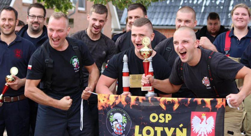 Straż pożarna, Lotyń podbiła Niemcy - zdjęcie, fotografia
