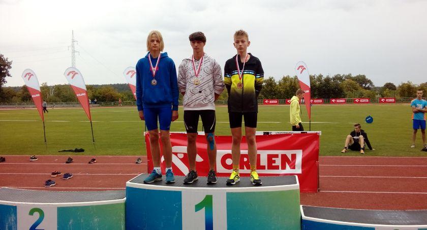 Lekkoatletyka, Międzywojewódzkie Mistrzostwa Młodzików Lekkiej atletyce - zdjęcie, fotografia