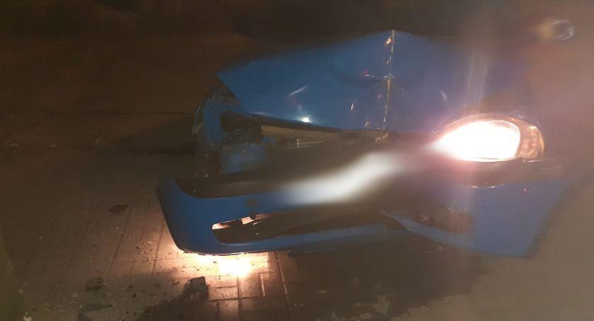 Kronika kryminalna, Nietrzeźwa uciekała autem przed policją - zdjęcie, fotografia