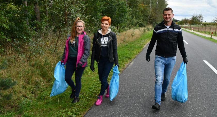 Ośrodki kulturalne, Akcja SprzątaMY prezydentem Nadleśnictwie Lipka - zdjęcie, fotografia