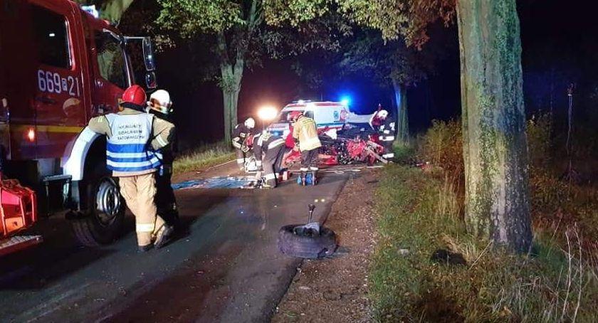 Straż pożarna, Droga śmierci - zdjęcie, fotografia