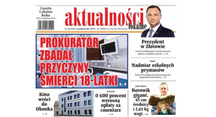 Książki i publikacje, Nadchodzi najnowszy numer Aktualności Lokalnych - zdjęcie, fotografia