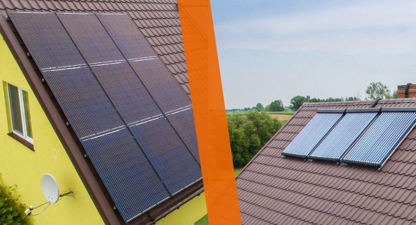 Biznes i praca, Panele słoneczne kolektory wybrać - zdjęcie, fotografia