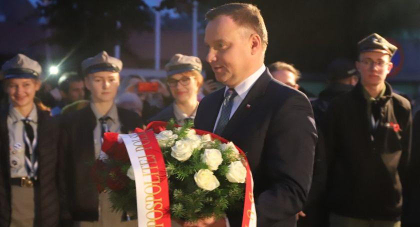 Samorządowcy, Prezydent Andrzej wizytą Złotowie - zdjęcie, fotografia