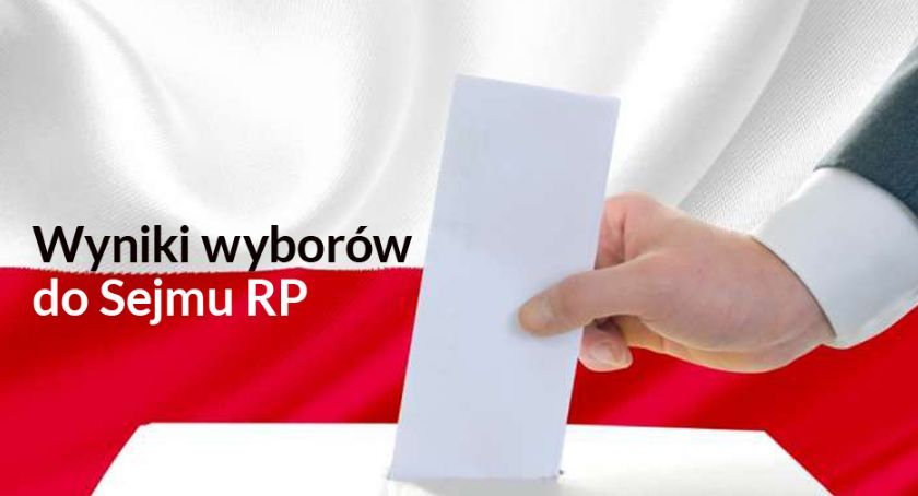 Wybory, Wyniki wyborów Sejmu - zdjęcie, fotografia