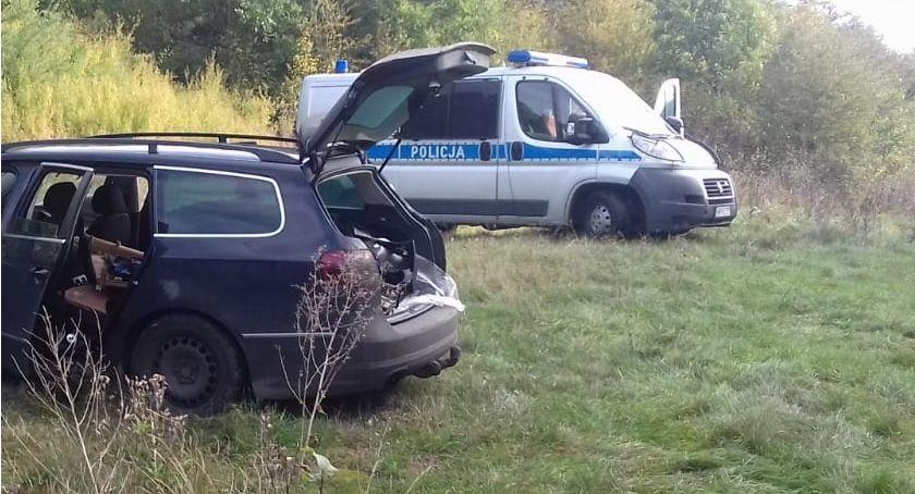 Kronika kryminalna, Pijany spowodował kolizję odjechał miejsca zdarzenia - zdjęcie, fotografia