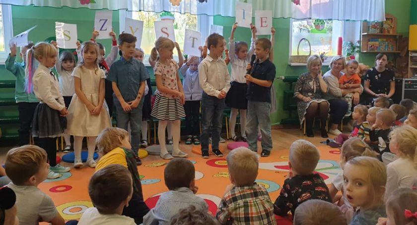 Edukacja, Dzień Edukacji Narodowej Przedszkolu Złotowie - zdjęcie, fotografia