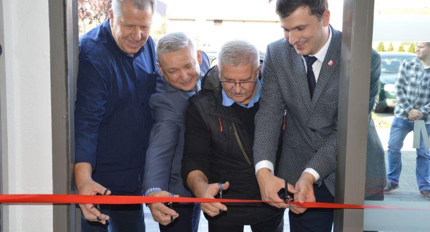 Samorządowcy, Otwarcie nowej siedziby Redomu - zdjęcie, fotografia