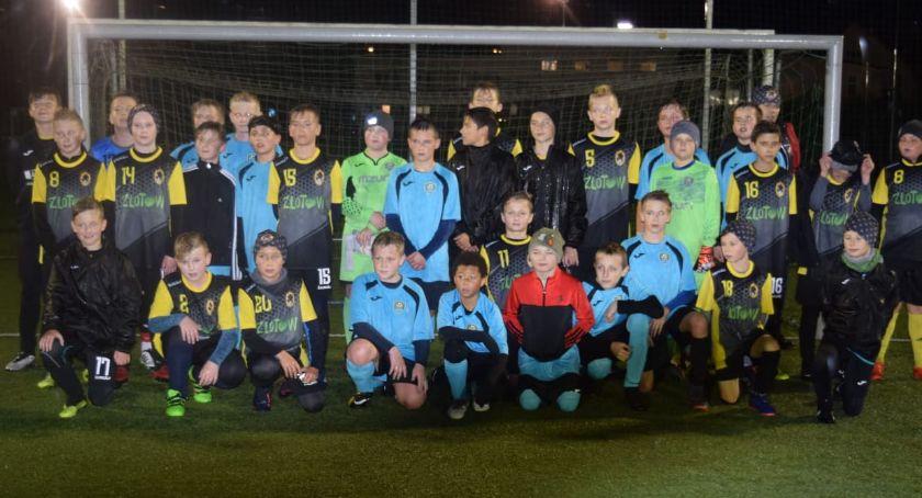 Piłka nożna, Młodzik Złotów kontra Start Jastrowie - zdjęcie, fotografia