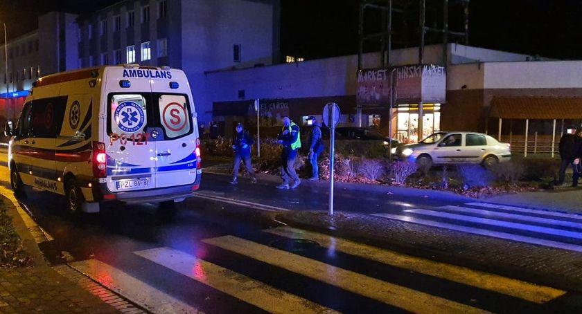 Kronika kryminalna, Potrącenie przejściu pieszych Złotowie Sprawca uciekł miejsca zdarzenia - zdjęcie, fotografia