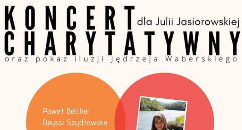 Charytatywnie, Zagrają zaśpiewają Julii - zdjęcie, fotografia