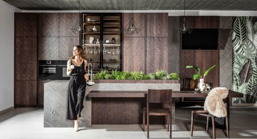 Mieszkania, Nowoczesna kuchnia urządzić - zdjęcie, fotografia