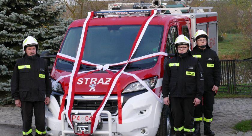 Straż pożarna, lecie Batorowo - zdjęcie, fotografia