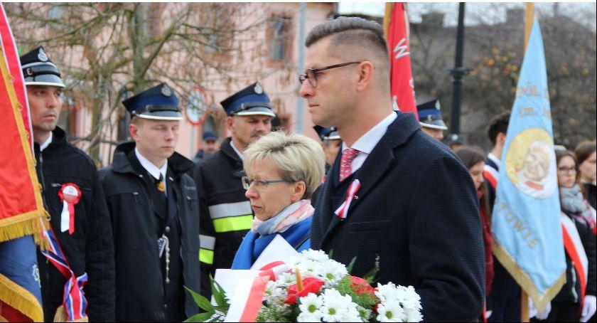 Uroczystości obchody, Powiatowo gminne obchody Niepodległości Lipce - zdjęcie, fotografia