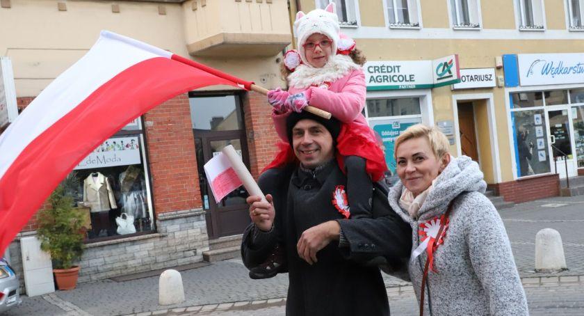 Uroczystości obchody, Złotowskie obchody Rocznicy Odzyskania Niepodległości - zdjęcie, fotografia