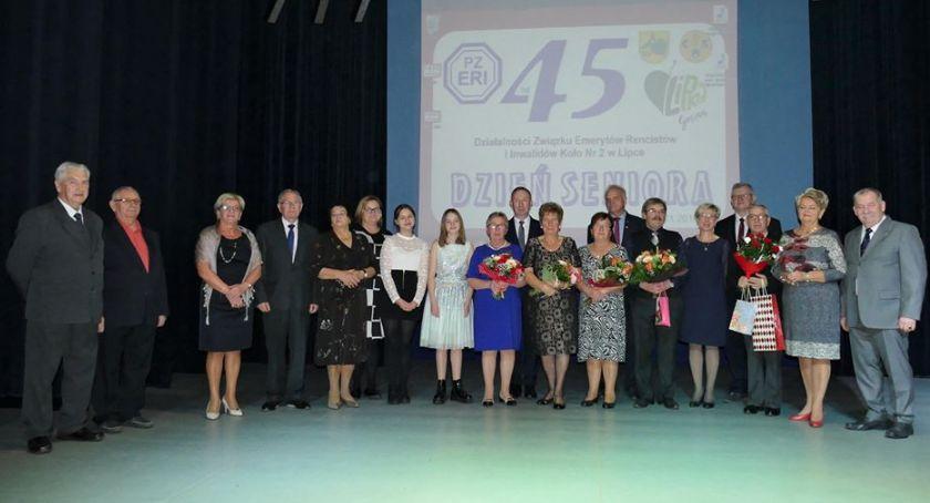 Uroczystości obchody, Jubileusz emerytów rencistów Lipce - zdjęcie, fotografia