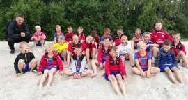 Akademia Piłkarska Sparty Złotów na obozie sportowym w Ustce