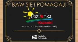 Charytatywne koncerty w Poziomce w Kujankach. Baw się i pomagaj!