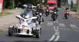 Parada motocykli ulicami Złotowa