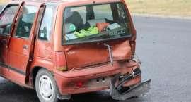 Stłuczka na skrzyżowaniu