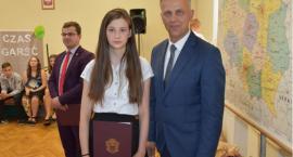 Nagrody Wójta Gminy Tarnówka za wyniki w nauce dla uczniów gimnazjum