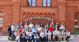 Uczniowie Społecznej Szkoły Podstawowej w Zalesiu na wycieczce